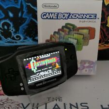 GameBoy Advance GBA New Backlit IPS V2 Screen New Black Shell Buttons Bumpers