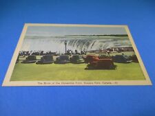 The Brink of The Horseshoe Falls Niagara Falls Canada Vintage Postcard PC48