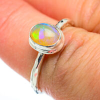 Ethiopian Opal 925 Sterling Silver Ring Size 6.25 Ana Co Jewelry R46838F