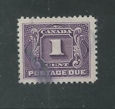 CANADA # J1 Thick Paper Variety Used POSTAGE DUE,  (7193)