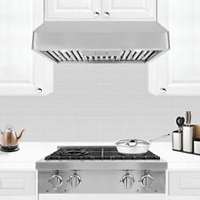 30� Range Hood 900 Cfm Under Cabinet F488 Stainless Steel, New - Free Shipping