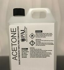 100% Pure Acetone Nail Polish Gel Acrylic SNS Remover 1 Liter - EXPRESS POST