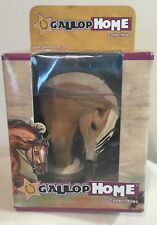 Gallop Home Fjord Sculpted Horse Collectible By Pat Kasper