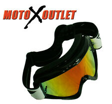 FLY Goggles ZONE PRO ADULT MOTOCROSS MX ATV UTV Racing GOGGLE MIRROR LENS