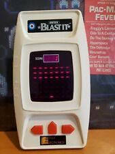 Ultra Rare Entex Blast it Vintage 1980 LED Handheld Electronic Game
