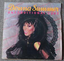 Donna Summer, unconditional love / woman, SP - 45 tours
