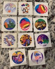 11 Vintage Lisa Frank Sticker Modules 1980s Bear Heart Unicorn Dragon