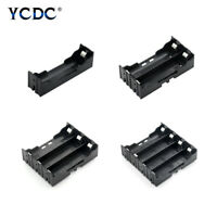 1 2 3 4 Slot Multi Way DIY 18650 Battery Clip Holder Container With Hard Pins F