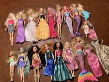 Disney,mermaid Barbie Dolls mixed Lot