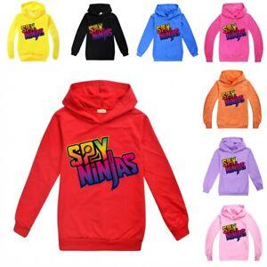 SPY NINJA CWC Kids NEW Hoodie Hooded Sweatshirt Youtuber Merch T-shirt Top Gifts
