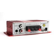 Kinter MA-180 Mini 2-CH Hi-Fi AMP Stereo USB Car Boat Audio Auto Power Amplifier