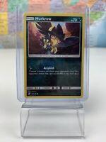 SHIPS SAME DAY Pokemon Card NM Murkrow Rev Holo 128/236 Basic Dark Type 2019 TCG