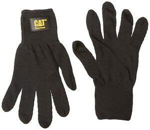 Cat Gloves Rainwear Boss Mfg CAT017407L Large Black Heavy Gauge String Knit Glov