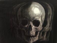 SKULL/SKELETON T-Shirt 2XL XXL Black Goth Punk Emo