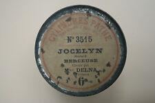 Cylindre phonographe Pathé inter Marie DELNA : La Berceuse de Jocelyn (Godard)