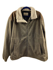 Tag Safari Outdoor Clothing Fleece Jacket Mens 2xl Sherpa fauxLeather