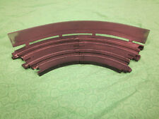 Wallboards #1 with silver chrome powdercoat finish for HO scale slot car tracks