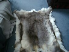 LARGE REINDEER SKIN HIDE VERY SOFT 55 INCHES BY 32 INCHES