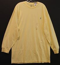 Polo Ralph Lauren Big and Tall Mens Corn Yellow Crewneck L/S T-Shirt NWT 2XB
