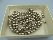 For Parts Repair or Restore – Vintage Mexican Jewelry Bracelet Silver Beads