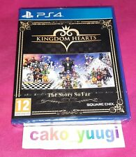 KINGDOM HEARTS THE STORY SO FAR  NEUF SOUS BLISTER ABIME VERSION FR