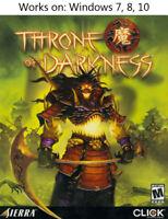 Throne of Darkness PC Game Windows 7 8 10