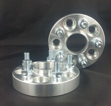 """HUB CENTRIC 5X100 1"""" 25mm WHEEL ADAPTERS SPACERS FOR BAJA IMPREZA WRX FORESTER"""