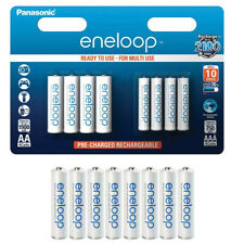GENUINE PANASONIC ENELOOP AA+AAA NiMH RECHARGEABLE BATTERY COMBI-PACK READY USE