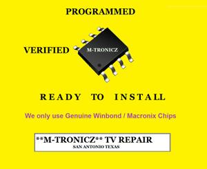 EEPROM FOR  VIZIO P502ui-B1E   XECB0TK004020X / ETEKX4   LOCATION   U202