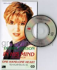 "DEBBIE GIBSON In His Mind /One Hand, JAPAN 3"" CD SINGLE AMDY-5076 Free S&H/P&P"