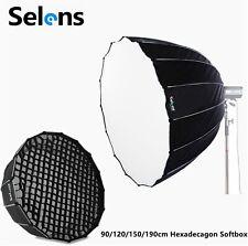 90-190cm Hexadecagon Umbrella Studio Softbox w/ Bowens Mount HoneyComb Grid