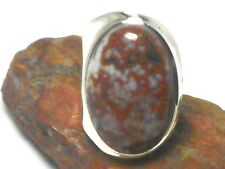Adjustable   Ocean   JASPER    Sterling  Silver   925   RING  -  Gift  Boxed!