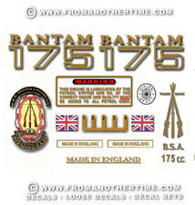 1969-71: D175 - Decal Set - BSA Bantam