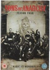 Sons of Anarchy - Season 4 - Complete (4 disc DVD, 2012)