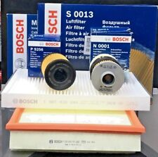 VAUXHALL INSIGNIA CDTI DIESEL BOSCH AIR+OIL+CABIN+FUEL FILTERS SERVICE PARTS KIT