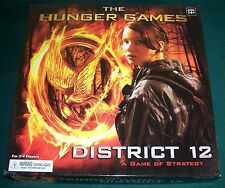 The Hunger Games District 12 Game of Strategy - Complete - Excellent Condition!