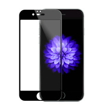 iPhone 6/6s Full Cover 3D Schutzglas tempered glass Screen Protector Black Panze