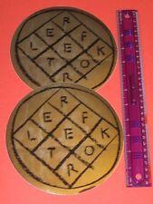 "Arcade Fire - Reflektor Mylar Sticker - Set of 2  7""  promo for LP / CD"