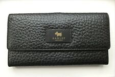 Radley Abbey Black Leather Travel Wallet Comes With Dust Bag