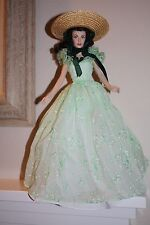 """Gone with the Wind"" Scarlett O'Hara Vinyl Doll by The Franklin Mint"