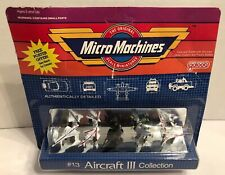 Micro Machines Aircraft 3 Collection #13 New 1988 Rare! By Galoob No.64