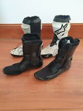 Alpinestars Supertech R Motorcycle Motorbike Race Boots - White EU 43 UK 9
