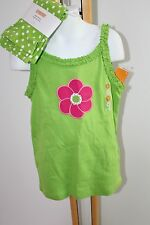 Gymboree Ice Cream Sweetie Floral Top Shirt Bike Shorts Girls Girl Size 9 NWT
