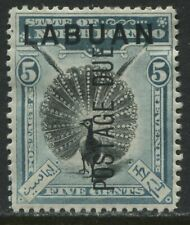 Labuan overprinted 5 cents Postage Due mint o.g.