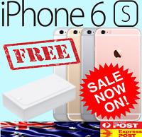 ☆ APPLE iPhone 6S 16GB 64GB 128GB 4G 5 4 6 Plus LTE Smartphone Unlocked In BOX ☆