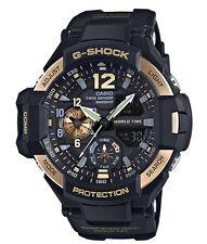 Casio G-Shock * G-Aviation GravityMaster GA1100-9G Black/Gold Gshock COD PayPal