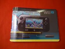 Nintendo Wii U System Promotional Booklet Console & Game Info Promo