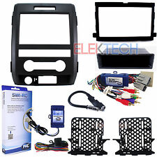 Radio Replacement & Steering Wheeel Control Interface & Dash Kit for Ford F-150