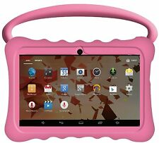 "NEW 7"" INCH KIDS TABLET CHILD PROOF FAST BTC® FLAME HD IPS SCREEN ANDROID 8GB"