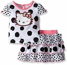 Hello Kitty Girls' T-Shirt and Skirt Set, Multi, 12M